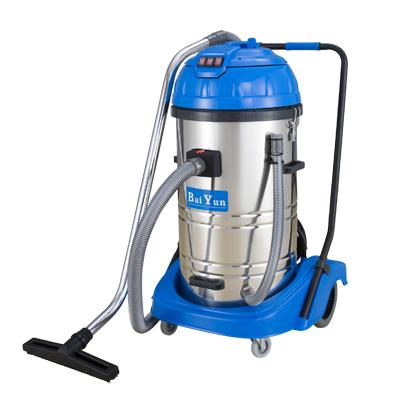 80L三马达吸尘吸水机(不锈钢桶)